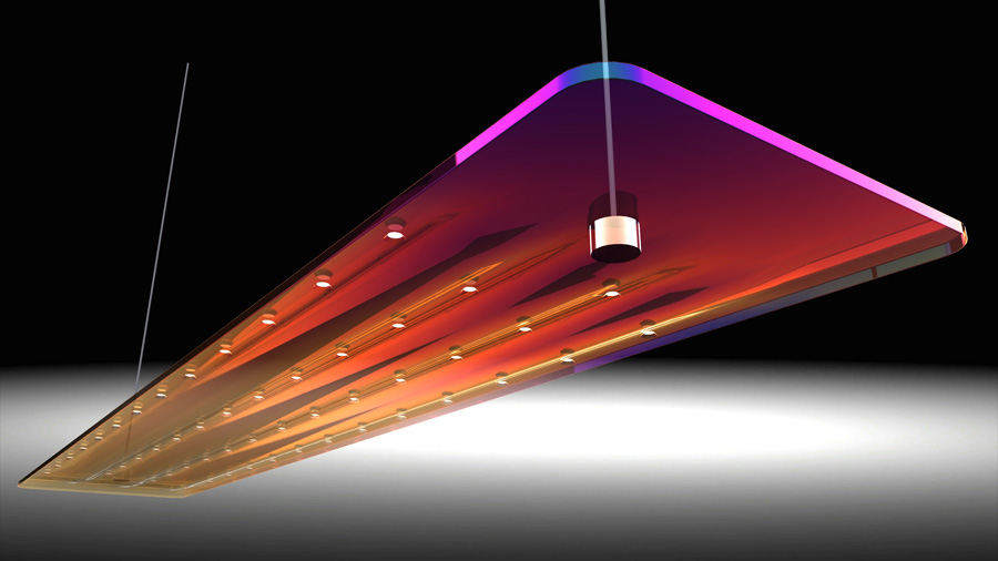 Led architectural lighting fixture